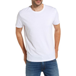 Textiel Heren T-shirts korte mouwen Wrangler W7500F Blanc