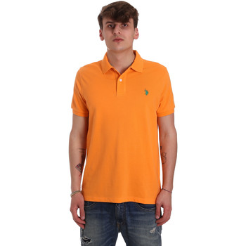 Textiel Heren Polo's korte mouwen U.S Polo Assn. 55957 41029 Orange