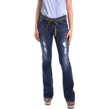 Textiel Dames Boyfriend jeans Fornarina BER1I98D834CE Blauw