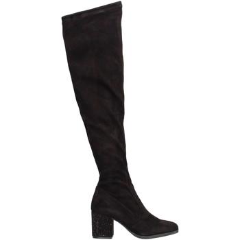 Schoenen Dames Hoge laarzen Gattinoni PINVK0764W Noir