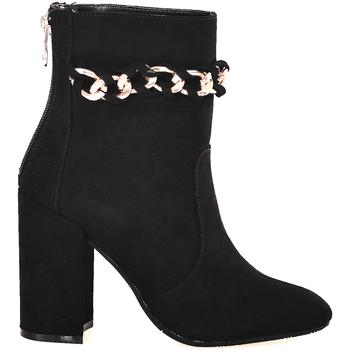 Schoenen Dames Enkellaarzen Gattinoni PINOD0784W Noir