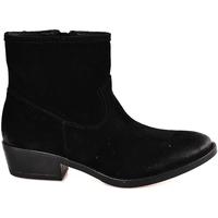 Schoenen Dames Enkellaarzen Mally 5340 Zwart
