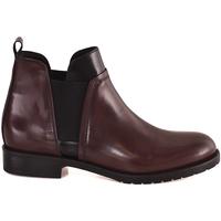 Schoenen Dames Enkellaarzen Mally 5948 Rood