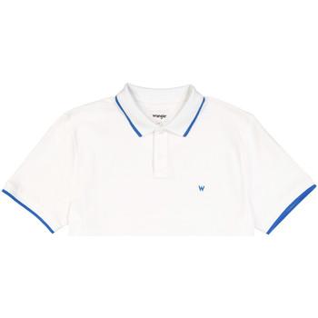 Textiel Heren Polo's korte mouwen Wrangler W7D5K4989 Blanc