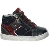 Schoenen Kinderen Hoge sneakers Nero Giardini A823210M Bleu