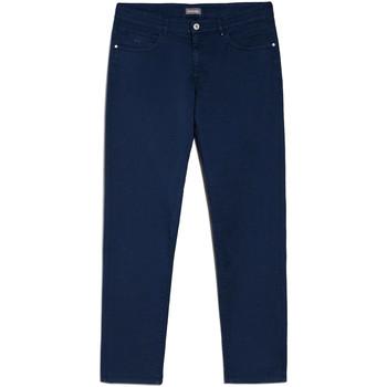 Textiel Heren Chino's Nero Giardini E070630U Bleu