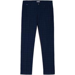 Textiel Heren Chino's Nero Giardini E070682U Bleu
