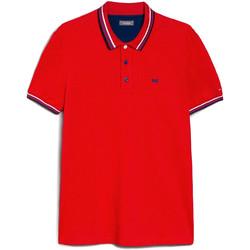 Textiel Heren Polo's korte mouwen Nero Giardini E072390U Rouge
