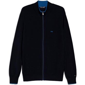 Textiel Heren Vesten / Cardigans Nero Giardini E074560U Bleu