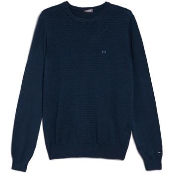 Textiel Heren Truien Nero Giardini E074600U Bleu