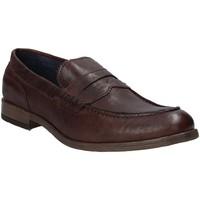 Schoenen Heren Mocassins Rogers CP 06 Bruin
