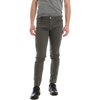 Textiel Heren 5 zakken broeken Sei3sei 02696 Groen