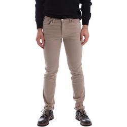 Textiel Heren 5 zakken broeken Sei3sei 02696 Beige