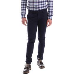 Textiel Heren Chino's Sei3sei 02396 Blauw