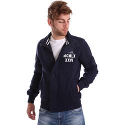 Textiel Heren Wind jackets Key Up FGS7 0001 Blauw