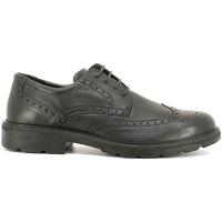 Schoenen Heren Derby Enval 6872 Zwart