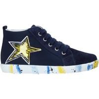 Schoenen Jongens Hoge sneakers Falcotto 2013554-01-1C49 Bleu