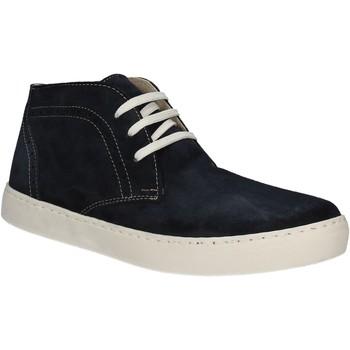 Schoenen Heren Hoge sneakers Café Noir XN601 Blauw