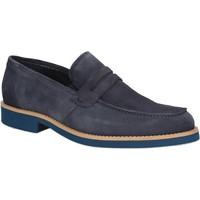 Schoenen Heren Mocassins Rogers 1008B Blauw
