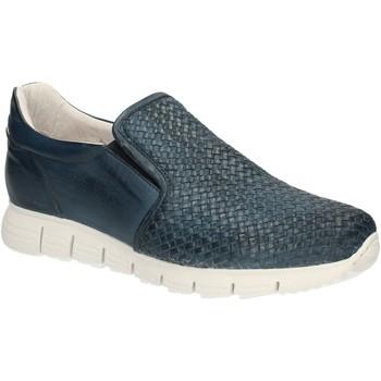 Schoenen Heren Mocassins Exton 339 Blauw