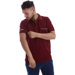 Textiel Heren Polo's korte mouwen Key Up 2827Q 0001 Rood