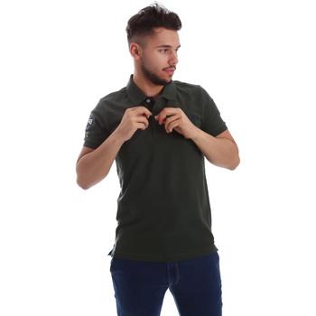 Textiel Heren Polo's korte mouwen Key Up 255QG 0001 Groen