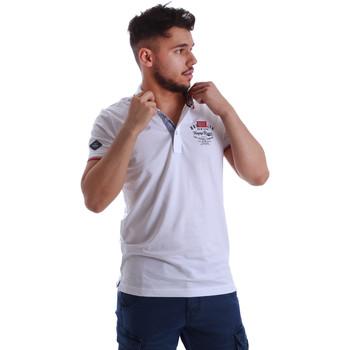 Textiel Heren Polo's korte mouwen Key Up 262RG 0001 Wit