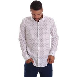 Textiel Heren Overhemden lange mouwen Gmf 971200/01 Wit