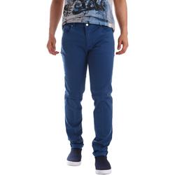 Textiel Heren 5 zakken broeken Sei3sei PZV17 71339 Blauw