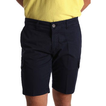 Textiel Heren Korte broeken / Bermuda's Sei3sei PZV130 7148 Blauw