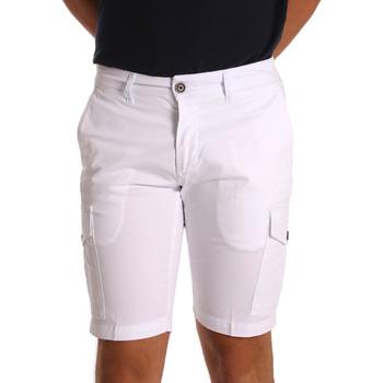Textiel Heren Korte broeken / Bermuda's Sei3sei PZV130 7148 Wit