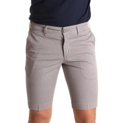 Textiel Heren Korte broeken / Bermuda's Sei3sei PZV132 71336 Bruin
