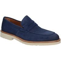 Schoenen Heren Mocassins Maritan G 160771 Blauw