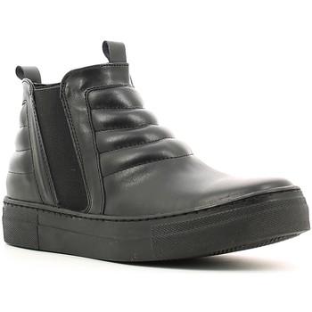 Schoenen Dames Hoge sneakers Café Noir XV101 Zwart