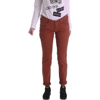 Textiel Dames 5 zakken broeken Fornarina BIR1G41G28050 Bruin