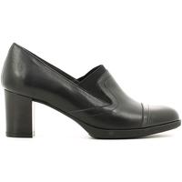 Schoenen Dames Mocassins Melluso X5602 Zwart