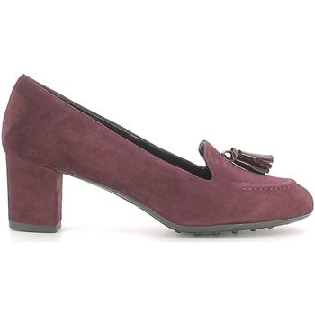 Schoenen Dames Mocassins Grace Shoes 206 Rood