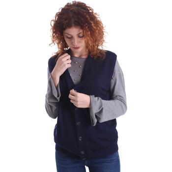 Textiel Dames Vesten / Cardigans Wool&co WO0004 Blauw