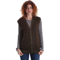 Textiel Dames Vesten / Cardigans Wool&co WO0004 Groen