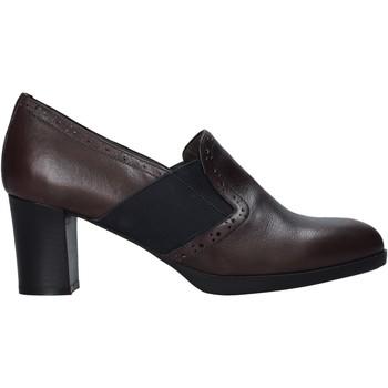 Schoenen Dames Sloffen Melluso X5603 Bruin