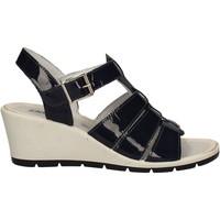Schoenen Dames Sandalen / Open schoenen Enval 7986 Blauw