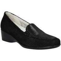 Schoenen Dames Mocassins Melluso R30506F Zwart