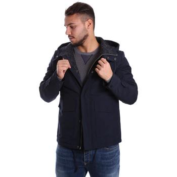 Textiel Heren Dons gevoerde jassen Antony Morato MMCO00424 FA600100 Blauw