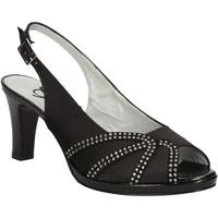 Schoenen Dames Sandalen / Open schoenen Grace Shoes E7793 Zwart