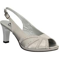 Schoenen Dames Sandalen / Open schoenen Grace Shoes E7793 Grijs
