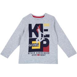 Textiel Kinderen T-shirts met lange mouwen Chicco 09006867000000 Grijs