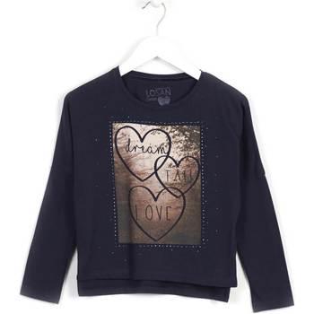 Textiel Meisjes Sweaters / Sweatshirts Losan 624 1008AB Blauw