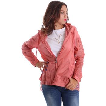 Textiel Dames Windjacken Fornarina BE173C30N29968 Roze