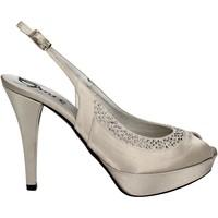 Schoenen Dames Sandalen / Open schoenen Grace Shoes 2046 Zilver