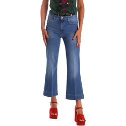 Textiel Dames Bootcut jeans Wrangler W230BG39W Blauw